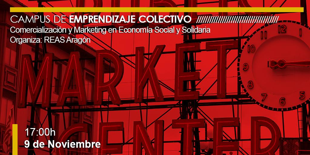 Comercialización y Marketing en el Campus de Emprendizaje colectivo