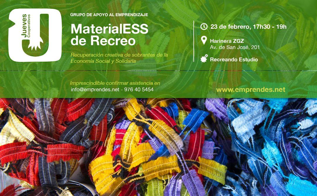 Jueves Cooperativos con MaterialESS de recreo