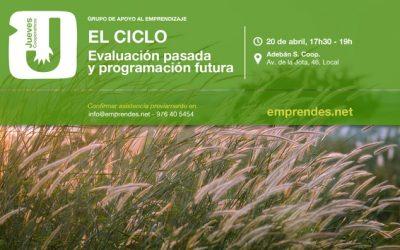 El CICLO: JUEVES COOPERATIVO DE EVALUACIÓN Y PROGRAMACIÓN