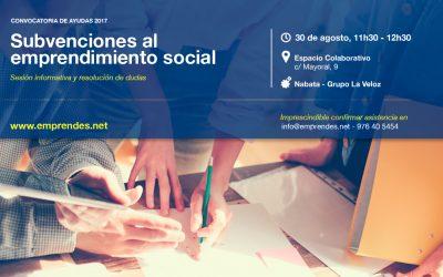 Subvenciones para la creación y consolidación de proyectos de emprendimiento social