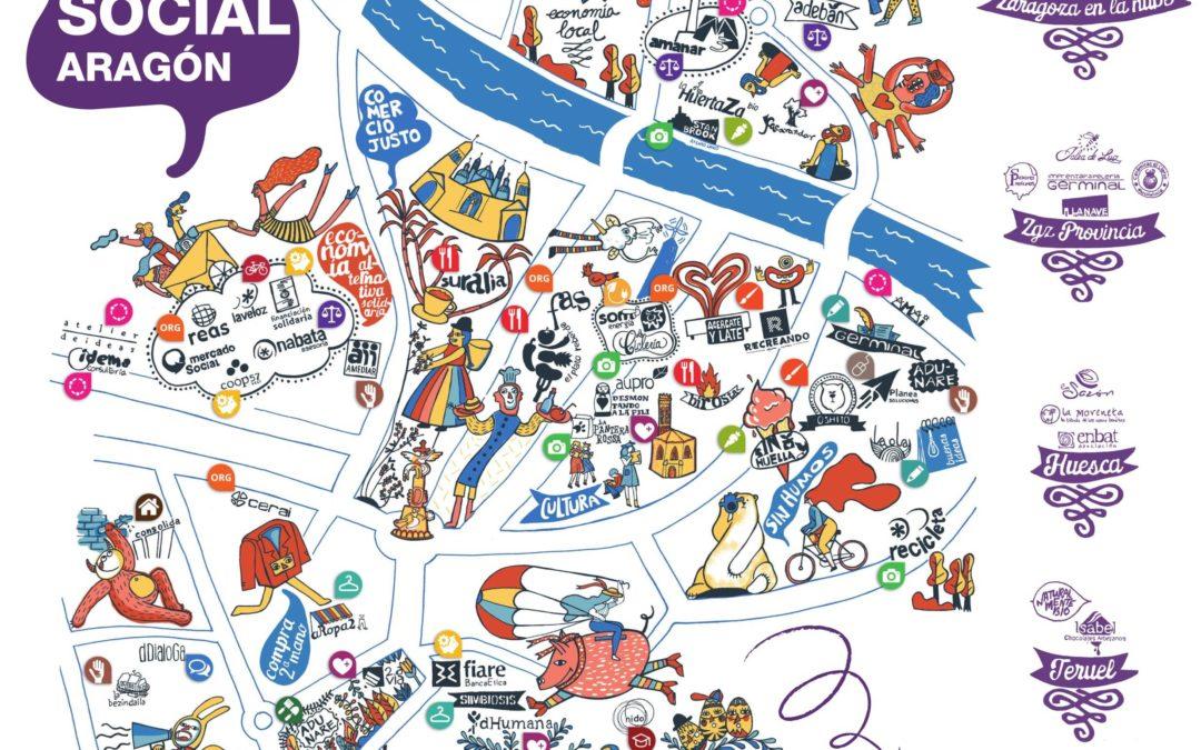 El mapa de la Economía Social y Solidaria en Aragón
