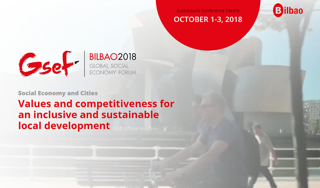 Abierta la convocatoria de iniciativas para el Foro Global de la Economía Social 2018
