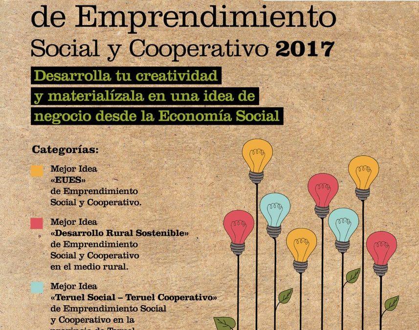 Abierto el plazo para Concurso de Ideas de Emprendimiento Social y Cooperativo de 2017