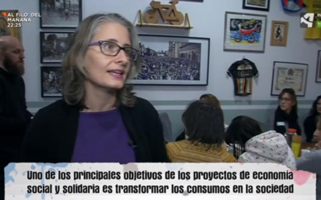 emprendes.net y la Economía Social y Solidaria en Aragón TV
