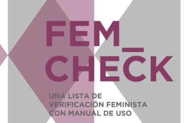 ¿Es tu entidad feminista?