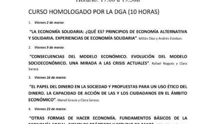 Formarse en Economía Social y Solidaria y financiar materiales didácticos es posible con este curso