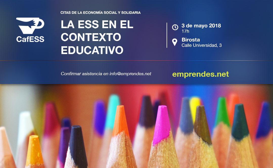 CafESS la ESS en el contexto educativo