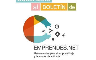 Suscríbete a los boletines de emprendes.net