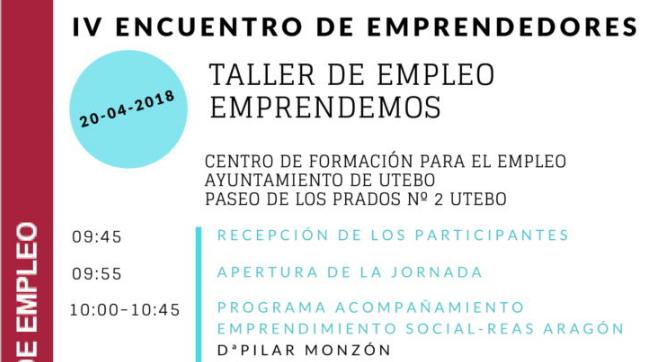 emprendes.net en el IV Encuentro de emprendedores