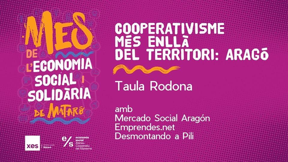La ESS aragonesa participará en el Mes de L'Economia Social i Solidària de Mataró