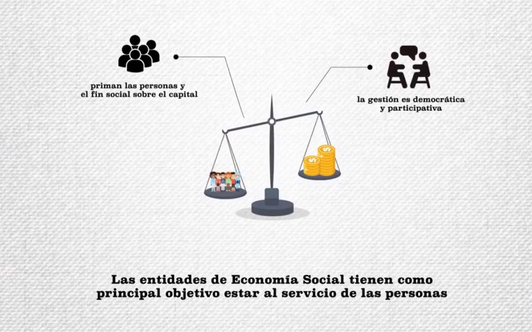 Nuevo vídeo de CEPES Aragón para conocer qué es la Economía Social