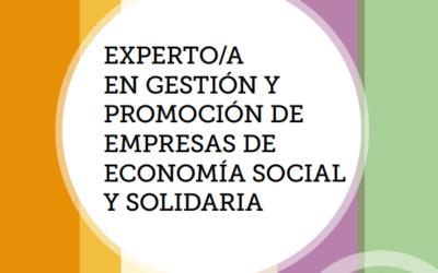 Abierto el plazo de preinscripción en elPostgradoExperto/a en Gestión y Promoción de Empresas de Economía Social y Solidaria