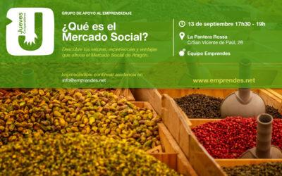 Descubre qué es el Mercado Social en una nueva sesión de Jueves Cooperativos