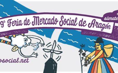 Emprendes.net estaremos en la IX Feria del Mercado Social de Aragón
