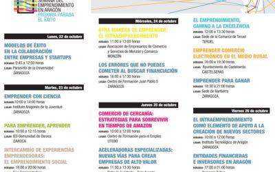Semana del Emprendimiento en Aragón 2018