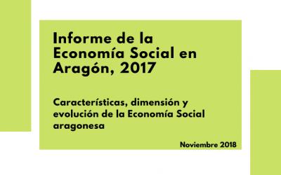 Se presenta el Informe sobre la Economía Social en Aragón en 2017