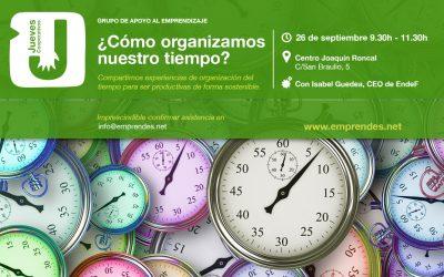 ¿Cómo organizar el tiempo para ser productivas?