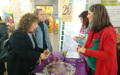 Llevamos el emprendimiento en ESS a la X Feria del Mercado Social de Aragón