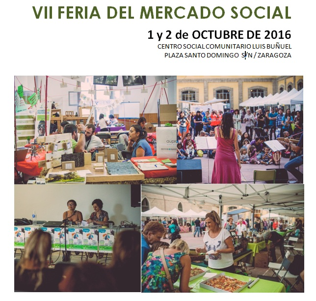 Ya tenemos fecha para la VII Feria del Mercado Social Aragón