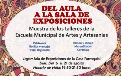 «Del Aula a la Sala de Exposiciones» – Exposición en Ejea de los Caballeros