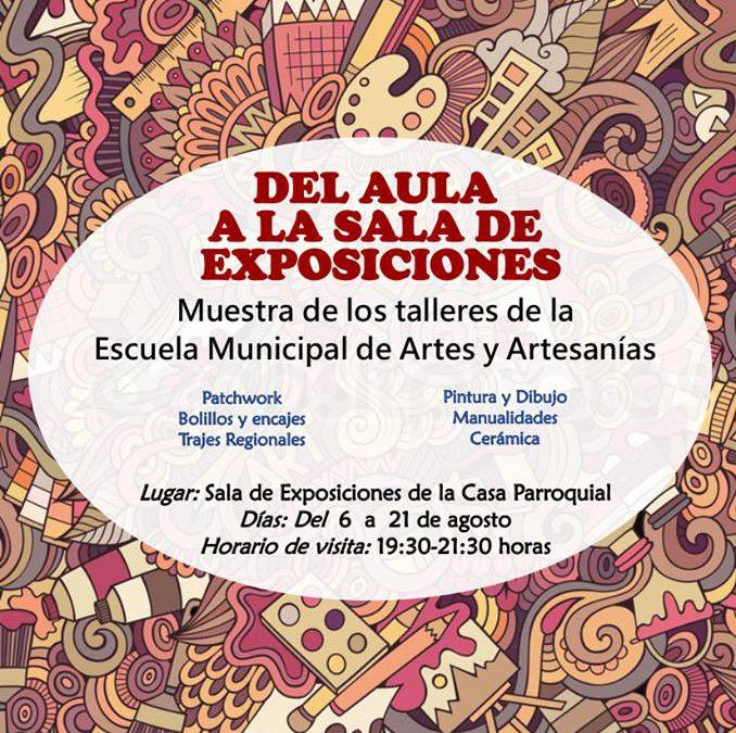 """""""Del Aula a la Sala de Exposiciones"""" – Exposición en Ejea de los Caballeros"""