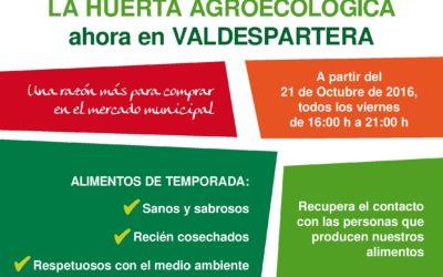 LA HUERTA AGROECOLÓGICA ahora en VALDESPARTERA