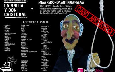 """Proyección en streaming de la obra """"La bruja y Don Cristobal"""""""