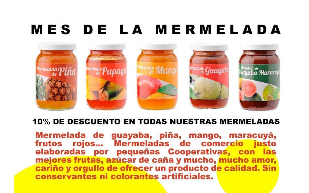 Marzo mes de la mermelada en Suralia