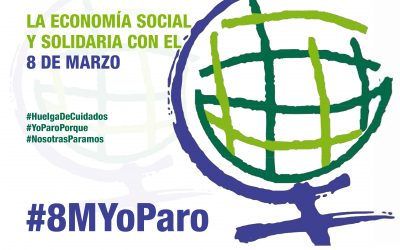 La Economía Social y Solidaria de Aragón con el 8 de Marzo
