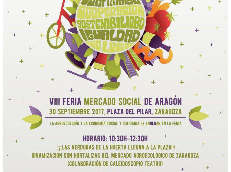 Chocolatada, talleres y música en la VIII Feria del Mercado Social