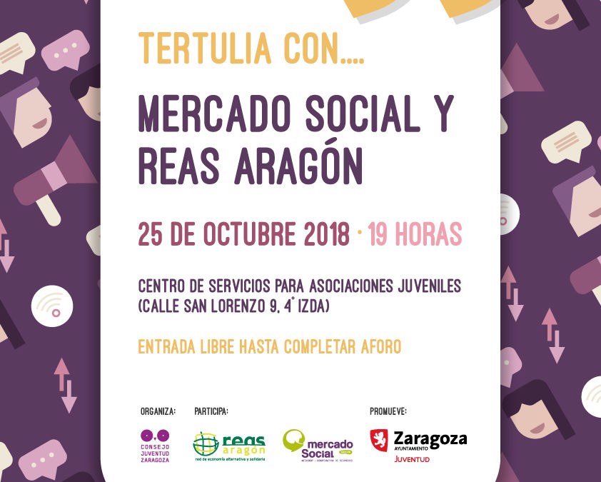 """Tertulias con la Economía Social y Solidaria en el """"Otoño formativo"""" del Consejo de la Juventud"""