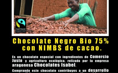 Presentación y degustación del nuevo «Chocolate Zaragoza Comercio Justo»