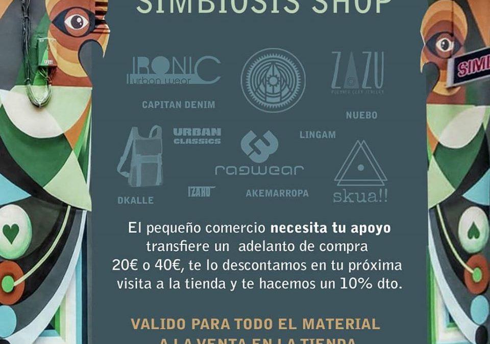 Apoya a Simbiosis Shop, apoya al pequeño comercio.