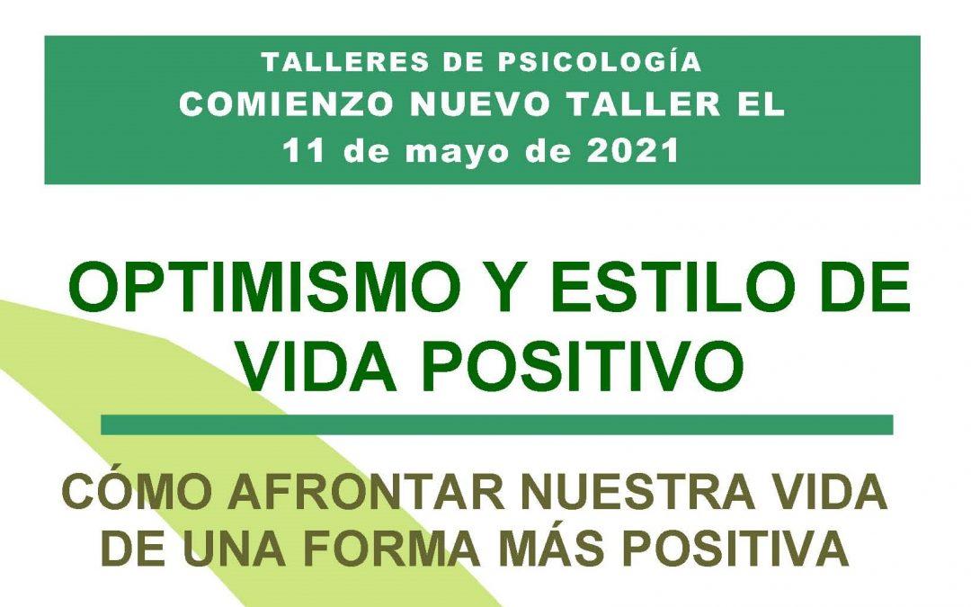 Taller optimismo y estilo de vida positivo