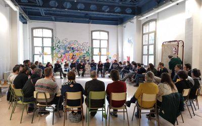 primera Asamblea presencial de coop57,  después de más de un año
