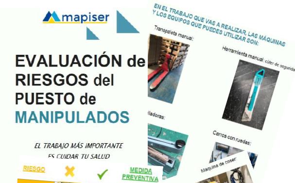 evaluaciones inclusivas de riesgos laborales de los puestos de trabajo de mapiser y Arapack