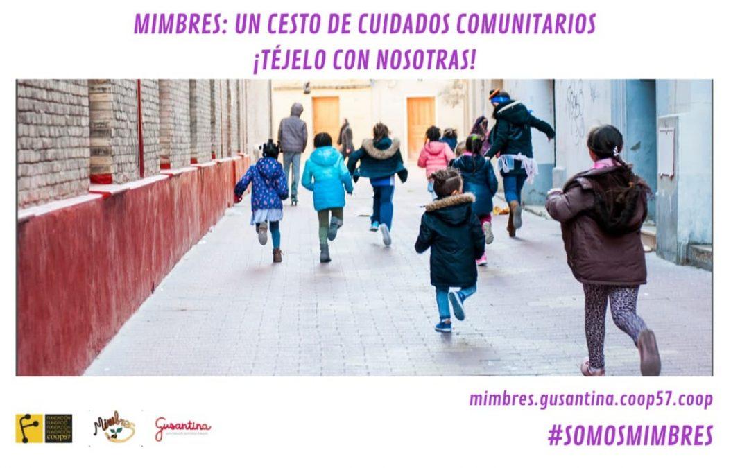 #SomosMimbres campaña de micromecenazgo de la Fundación Coop57 y la Asociación Gusantina