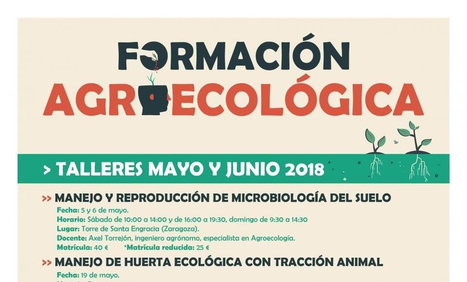 CERAI Aragón retoma sus formaciones agroecológicas