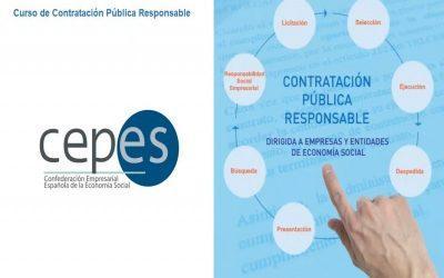 """Inscripciones abiertas para el II Curso """"Contratación Pública Responsable"""" de CEPES"""