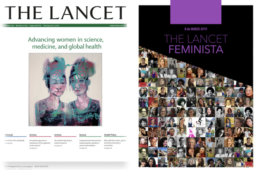 Lecturas compartidas de The Lancet Feminista