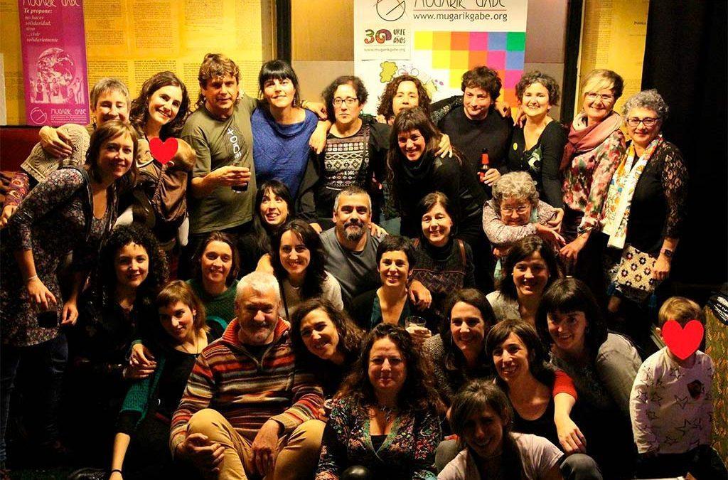 """María Viadero (Mugarik Gabe): """"El sexismo de nuestros entornos se da también en nuestras organizaciones"""""""