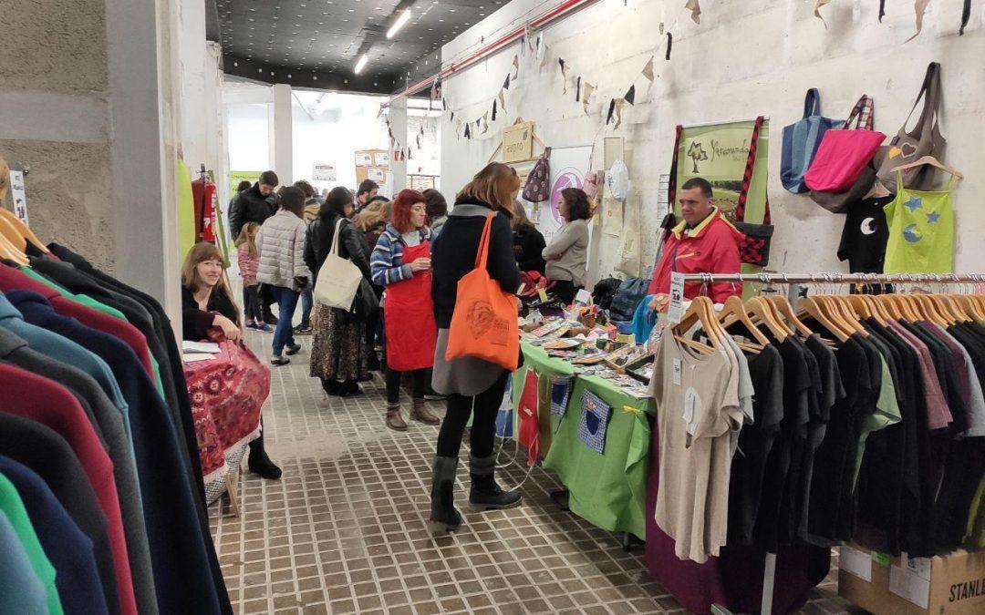 Celebrada con éxito la X Feria del Mercado Social de Aragón